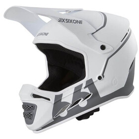 SixSixOne Reset Full Face Helm, tundra white